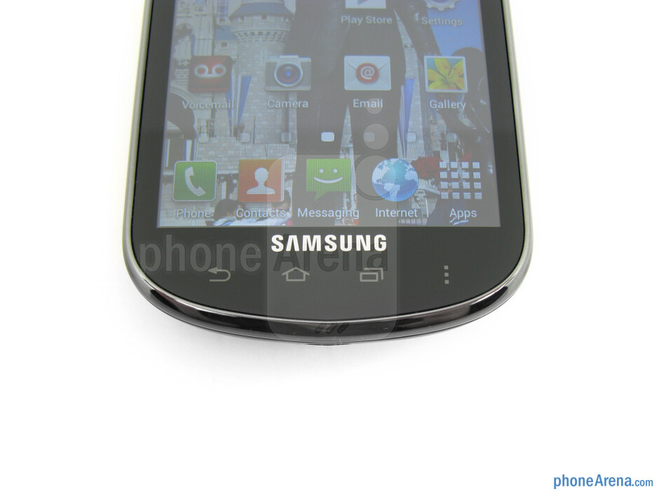Android buttons - Samsung Galaxy Stellar Review