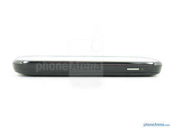 Power key (right) - The sides of the Samsung Galaxy Stellar - Samsung Galaxy Stellar Review