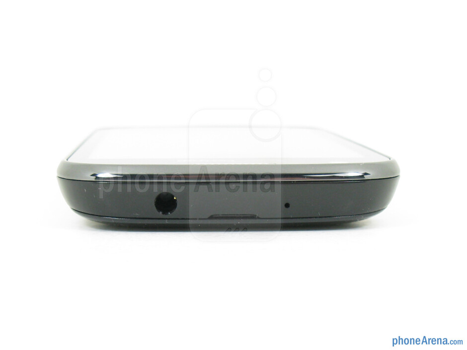 3.5mm jack (top) - The sides of the Samsung Galaxy Stellar - Samsung Galaxy Stellar Review