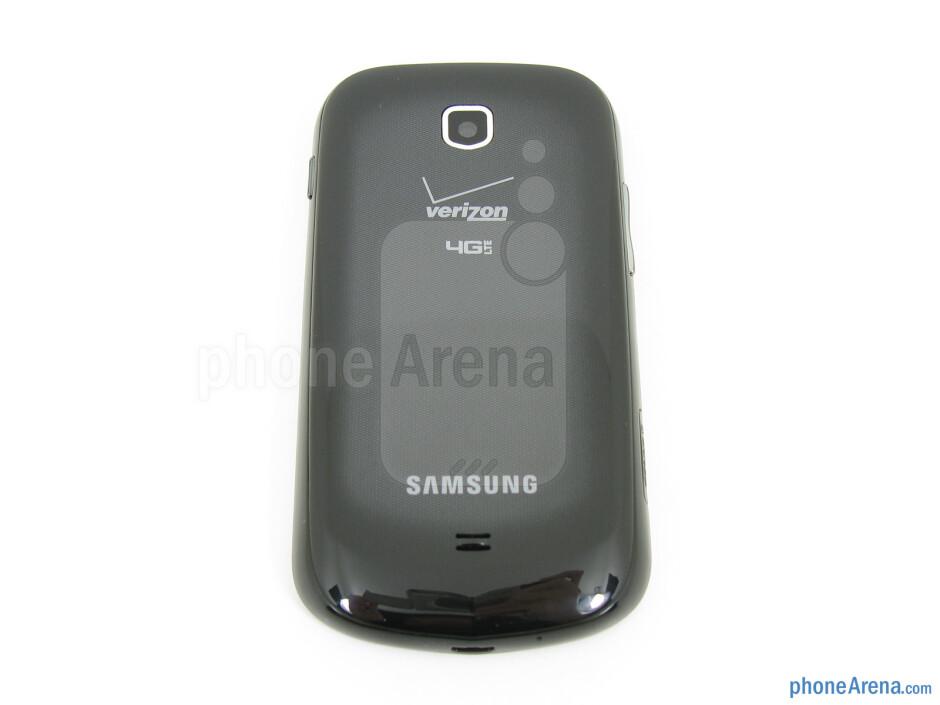 Back - The sides of the Samsung Galaxy Stellar - Samsung Galaxy Stellar Review