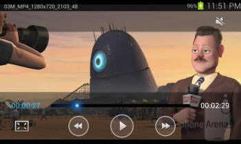 Video player - Samsung Galaxy Stellar Review