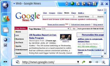 Google Pages - Internet Browsing - Nokia N800 Internet Tablet Review