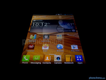 Viewing angles - LG Intuition Review
