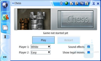 Chess Game - Nokia N800 Internet Tablet Review