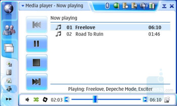Music Player and Library - Nokia N800 Internet Tablet Review