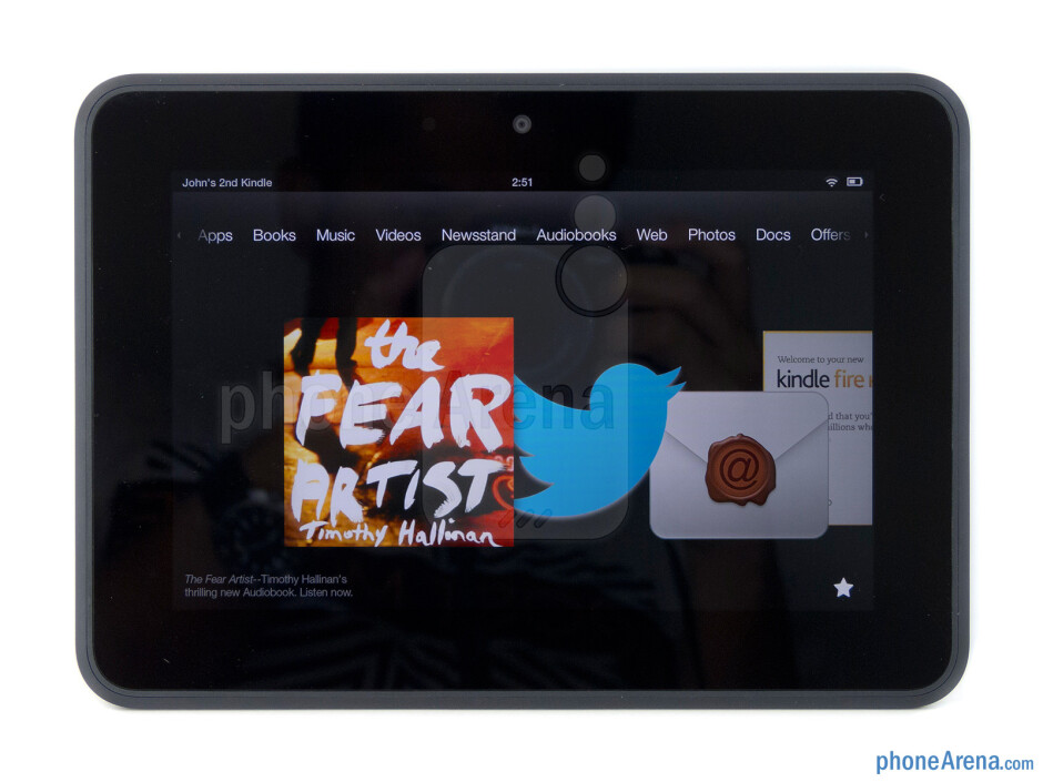 Amazon Kindle Fire HD Review
