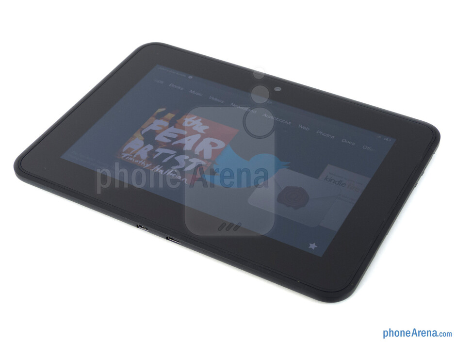 The Amazon Kindle Fire HD maintains a very clean appearance - Amazon Kindle Fire HD Review