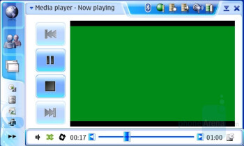 Video Player - Nokia N800 Internet Tablet Review