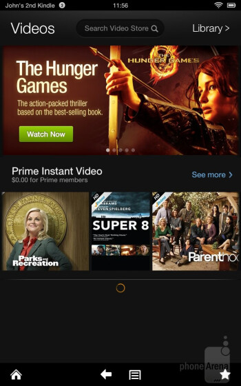 Amazon Prime Instant Video - Amazon Kindle Fire HD Review