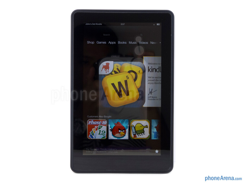 The sides of the Amazon Kindle Fire 2 - Amazon Kindle Fire 2 Review