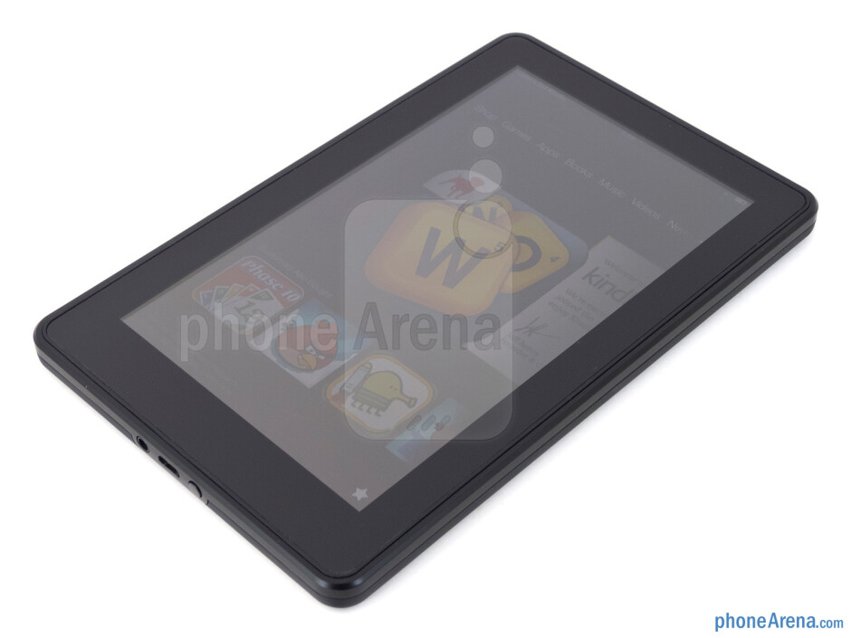 Box and contents - Amazon Kindle Fire 2 Review