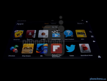 Viewing angles - Amazon Kindle Fire 2 Review