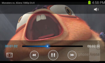 Video player - Samsung Galaxy S Relay 4G Review