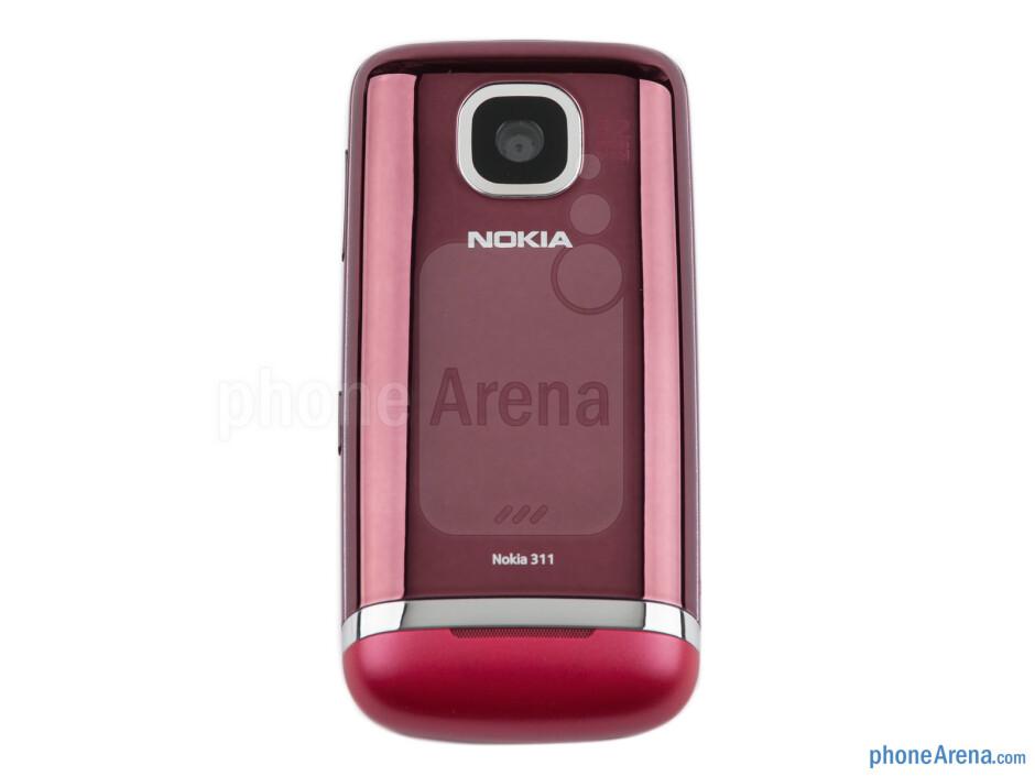 Back - Nokia Asha 311 Review