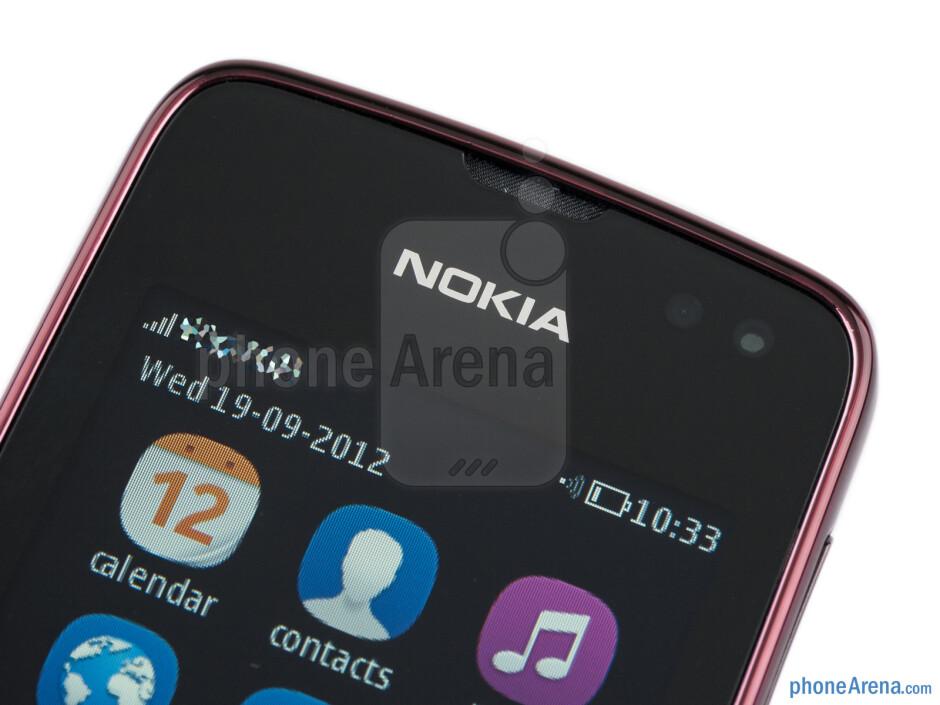 Ambient light and proximity sensors - Nokia Asha 311 Review