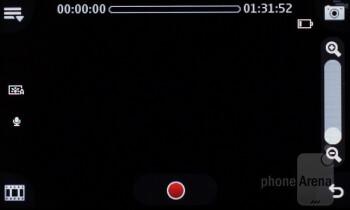 Camera interface - Nokia Asha 311 Review
