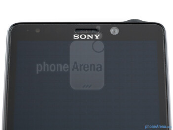 Front camera - Sony Xperia T Review