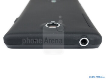 3.5mm jack (top) - The sides of the Sony Xperia T - Sony Xperia T Review