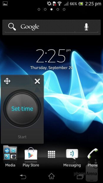 Small Apps - Sony Xperia T Review