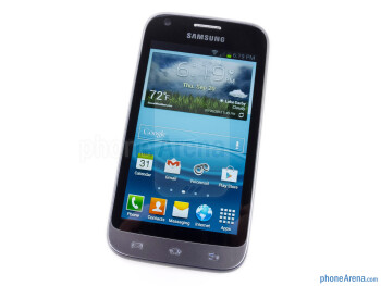 Front - The sides of the Samsung Galaxy Victory 4G LTE - Samsung Galaxy Victory 4G LTE Review