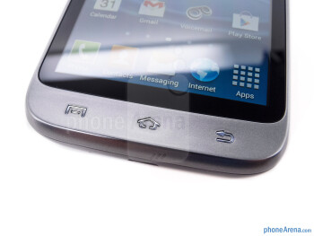 Android buttons - The sides of the Samsung Galaxy Victory 4G LTE - Samsung Galaxy Victory 4G LTE Review