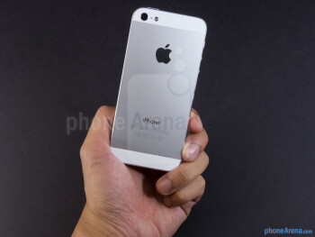 The Apple iPhone 5's length has been extended to 4.87-inches in contrast to the 4.54-inch length of its predecessor - Apple iPhone 5 Review