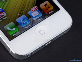 The home button - Apple iPhone 5 Review