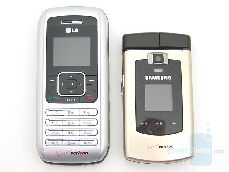 LG enV (VX9900) and Samsung SCH-U740 - Samsung Alias U740 Preview
