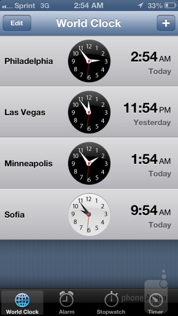 Some of the core organizer apps - Apple iPhone 5 Review