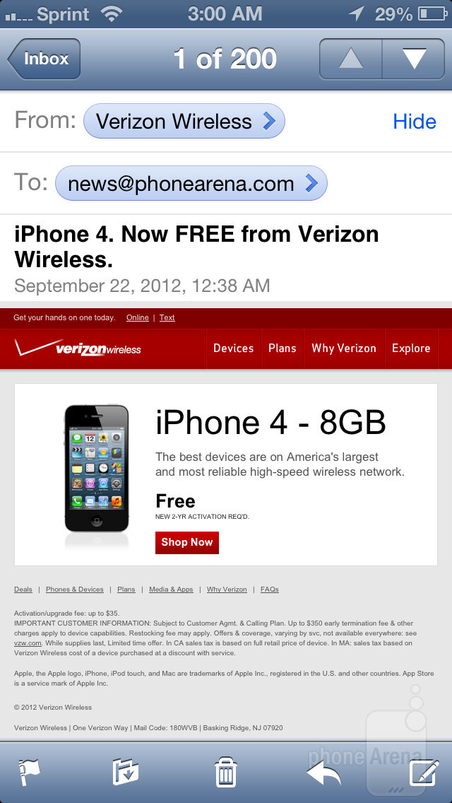 how to get email on iphone 5