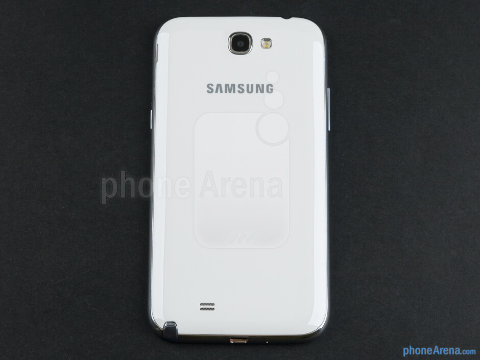 Back - Samsung Galaxy Note II Review