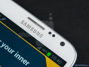 Front camera - Samsung Galaxy Note II Review