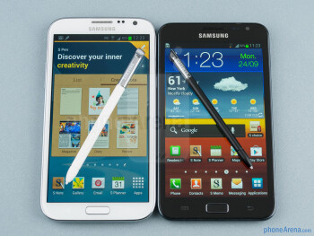 Samsung Galaxy Note II vs Galaxy Note