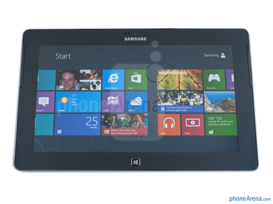 Front - Samsung ATIV Tab Preview