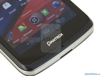 Android buttons - Pantech Flex Review