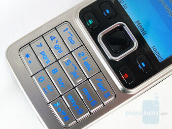 Keyboard - Nokia 6300 Review