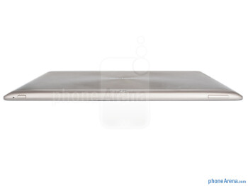 Top - The sides of the Asus Transformer Pad Infinity - Asus Transformer Pad Infinity Review