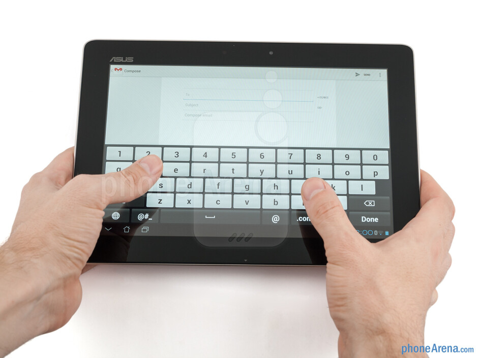 The Asus Transformer Pad Infinity is not too heavy - Asus Transformer Pad Infinity Review