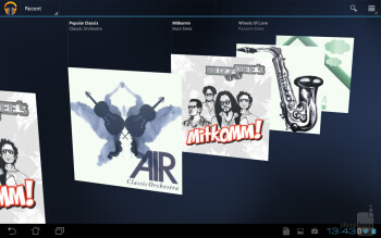 Music playback - Multimedia on the Asus Transformer Pad Infinity - Asus Transformer Pad Infinity Review