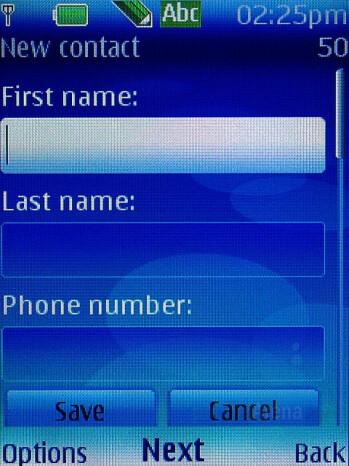 Phonebook - Nokia 6300 Review