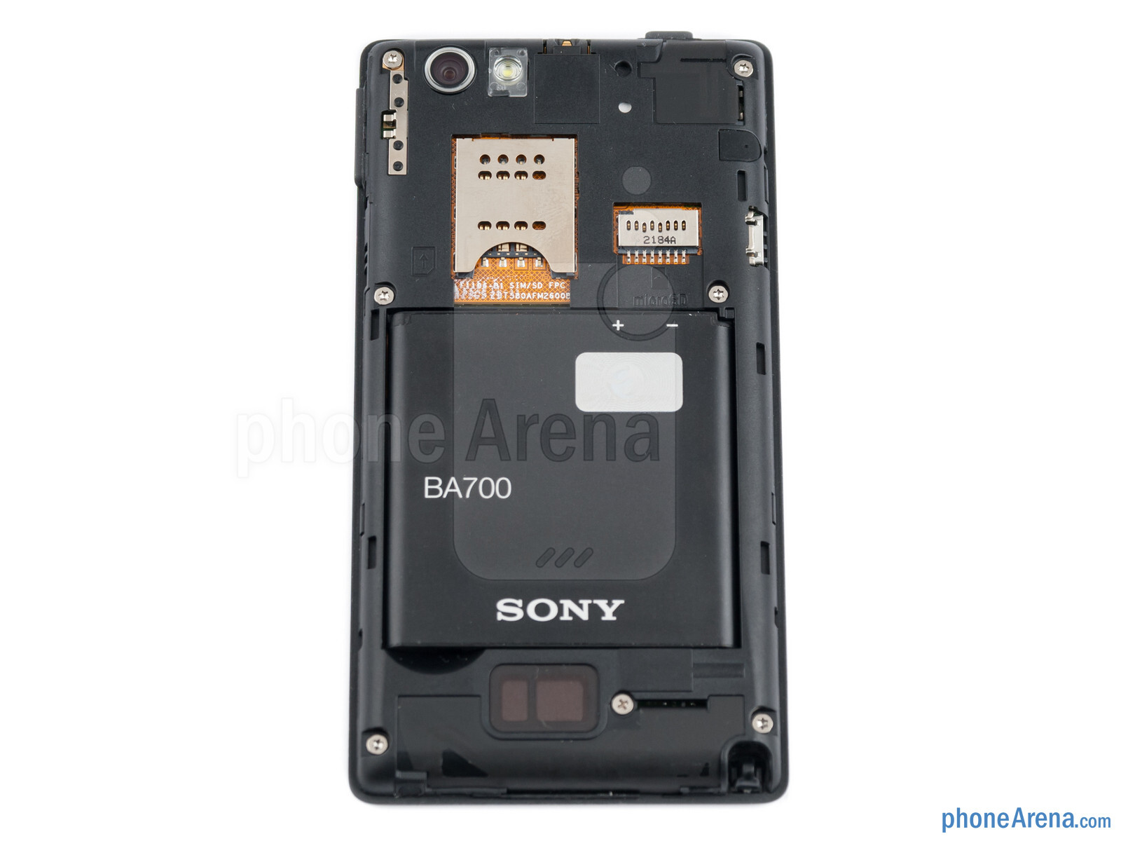 Sony Xperia Miro Review St23i 4 Gb Battery Compartment