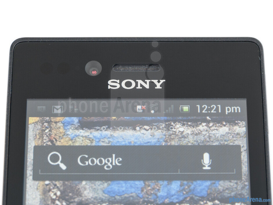 Front camera - Sony Xperia miro Review