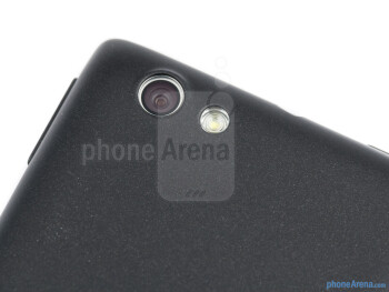 Rear camera - Sony Xperia miro Review