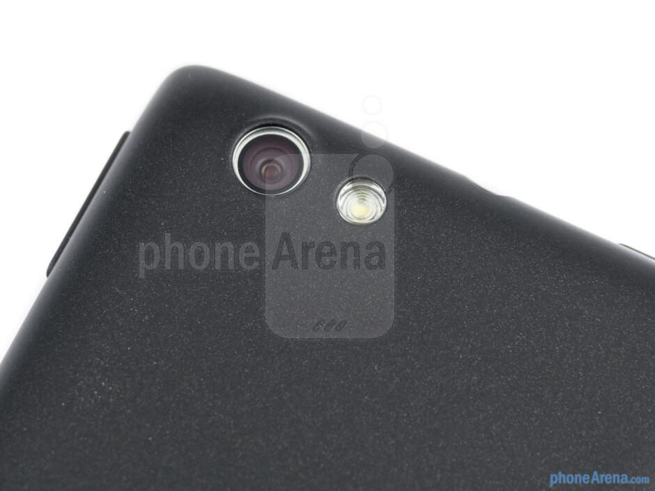 Rear camera - Sony Xperia miro Review
