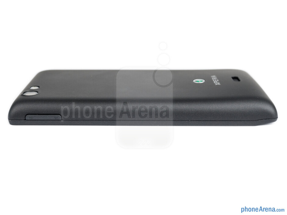 Volume rocker (right) - The sides of the Sony Xperia miro - Sony Xperia miro Review