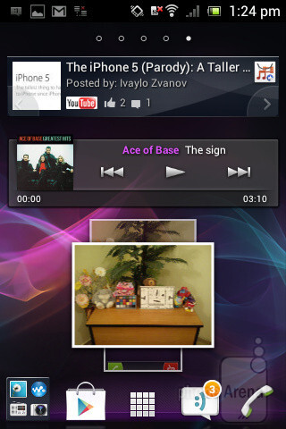 The Sony Xperia miro comes with Android 4.0 Ice Cream Sandwich out of the box - Sony Xperia miro Review