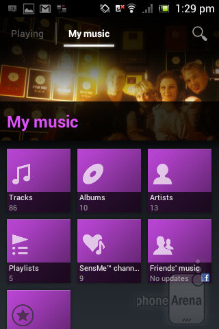 The Walkman music player - Sony Xperia miro Review