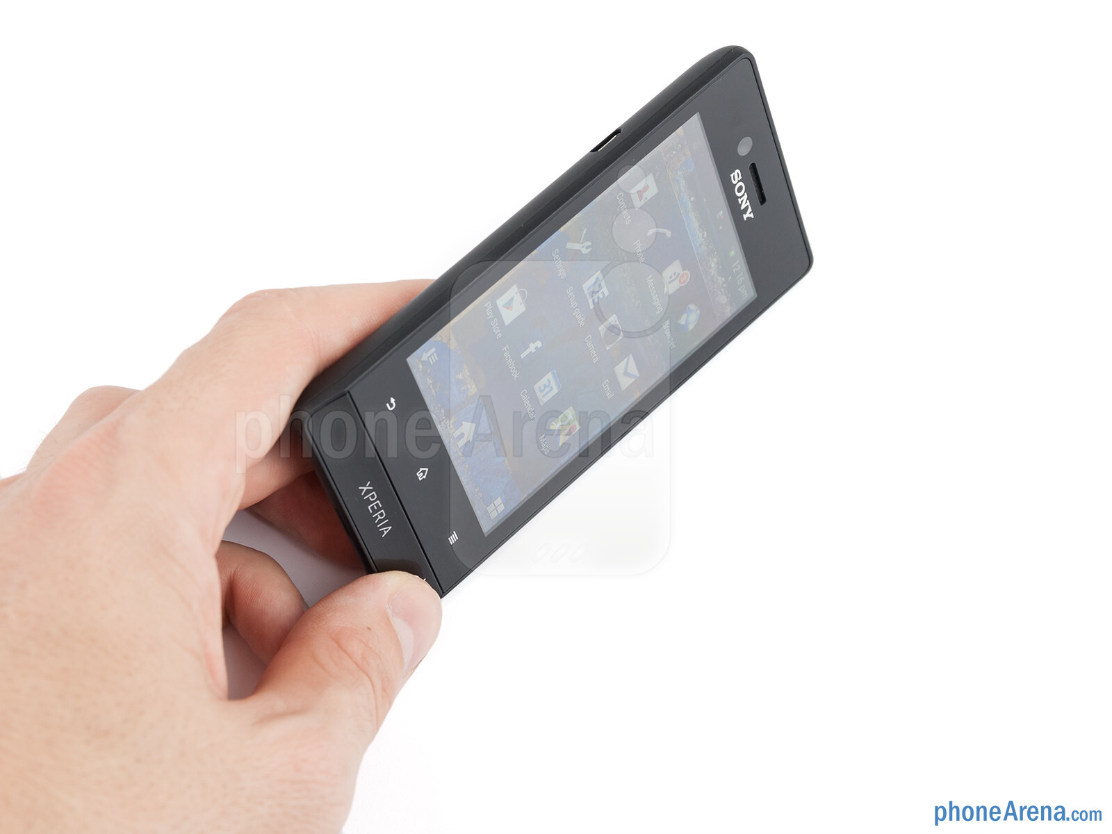 The Sony Xperia miro feels well built - Sony Xperia miro Review