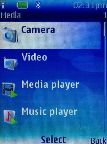 Camera Interface - Nokia 6300 Review