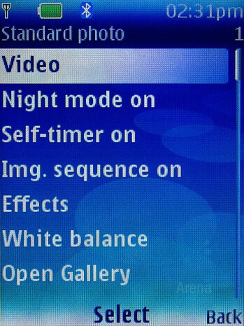 Camera Interface - Nokia 6300 Review